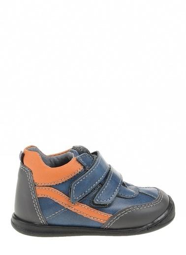 Kifidis Hakiki Deri İlk Adım Ayakkabı Mavi